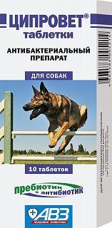 Ципровет таблетки для орального применения для собак