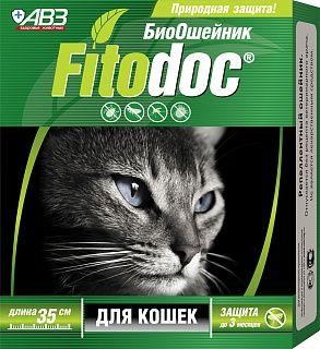 Фитодок ошейник репеллентный для кошек