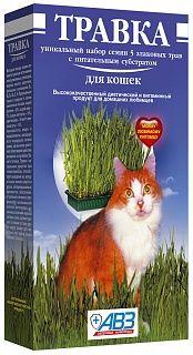 Травка для кошек витаминная подкормка