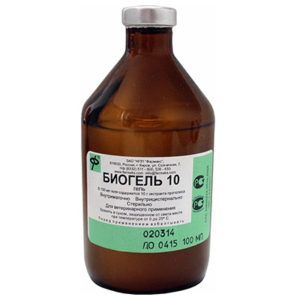 Биогель 10 (с экстрактом прополиса)