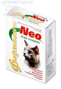 Кормовая добавка «витаминно-минеральный комплекс «фармавит neo» для кошек