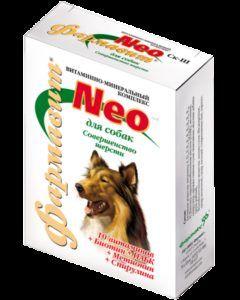 Кормовая добавка «витаминно-минеральный комплекс «фармавит neo» для собак «совершенство шерсти» к
