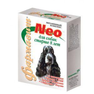 Кормовая добавка «витаминно-минеральный комплекс «фармавит neo»  для собак старше 8 лет