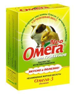 Мультивитаминное лакомство «омега neo» для грызунов  с биотином