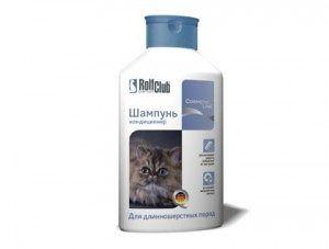Шампунь-кондиционер для длинношерстных пород кошек, 400 мл