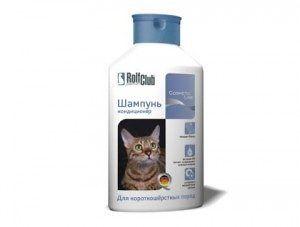 Шампунь-кондиционер для короткошерстных кошек, 400 мл