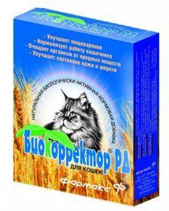 Натуральная биологически активная добавка «биокорректор рд» для кошек