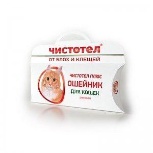 Ошейник от блох и клещей для кошек, 35 см (супер)