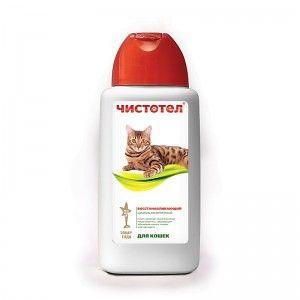 Восстанавливающий шампунь для кошек 180 мл
