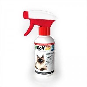 Спрей от клещей и блох для кошек, 200 мл