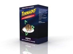 Зерно от мышей 200 г (коробка)