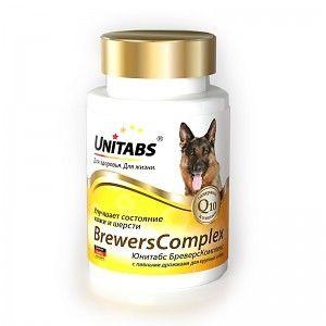 Brewerscomplex с пивными дрожжами для крупных собак, 100 таб.