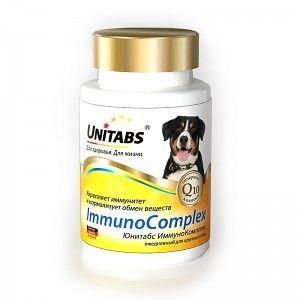 Immunocomplex для крупных собак, 100 таб.