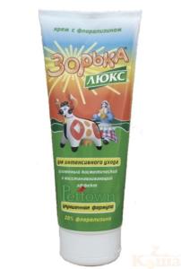 Крем «зорька» люкс»(с флорализином 20%)