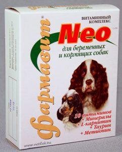 Кормовая добавка «витаминно-минеральный комплекс «фармавит neo» для беременных и кормящих собак