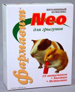 Кормовая добавка «витаминно-минеральный комплекс «фармавит neo»   для грызунов