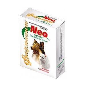 Кормовая добавка «витаминно-минеральный комплекс «фармавит neo»  для кошек и собак биотин