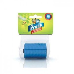 Пакеты для уборки фекалий сменный рулон 20 пакетов