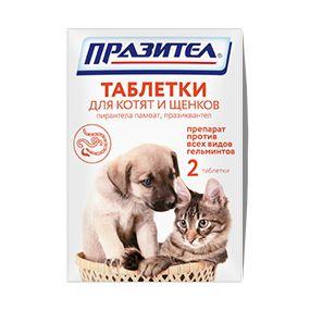 «празител» таблетки для котят ищенков