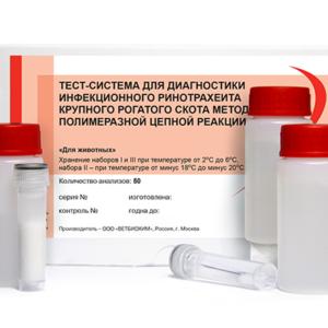 Тест-система для диагностики инфекционного ринотрахеита крупного рогатого скота методом полимеразной цепной реакции