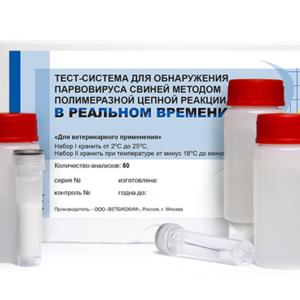 Тест-система для обнаружения парвовируса свиней методом полимеразной цепной реакции (пцр) в реальном времени