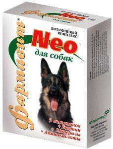 Кормовая добавка «витаминно-минеральный комплекс «фармавит neo» для собак