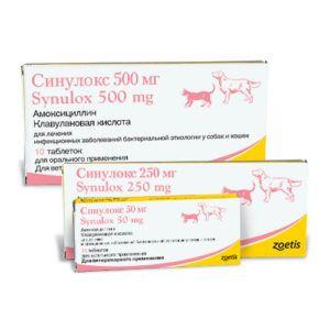 Синулокс таблетки