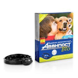 «аванпост® bio» репеллентный ошейник для собак