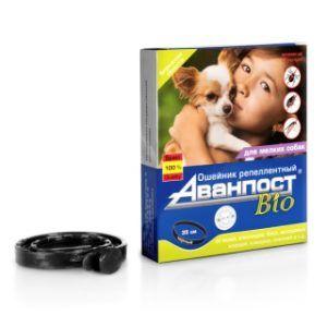 «аванпост® bio» репеллентный ошейник для мелких собак