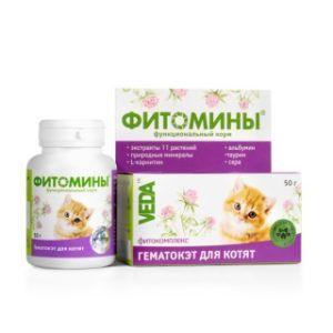 Фитомины® гематокэт для котят