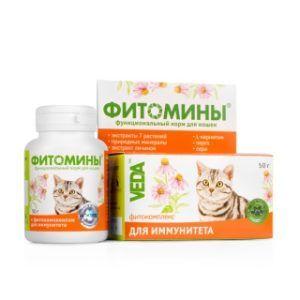 Фитомины® с фитокомплексом для иммунитета для кошек