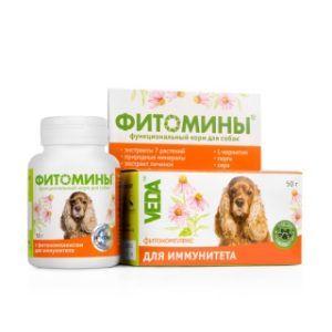 Фитомины® с фитокомплексом для иммунитета для собак