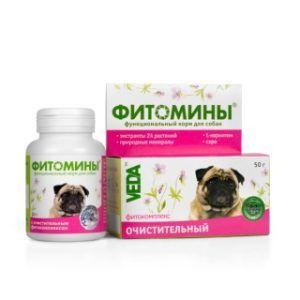 Фитомины® с очистительным фитокомплексом для собак
