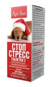 Стоп-стресс таблетки для собак до 30 кг