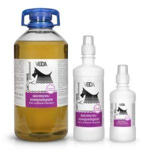 Шампунь-концентрат для глубокой очистки groomer professional