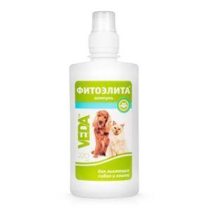 Фитоэлита® шампунь для линяющих собак и кошек