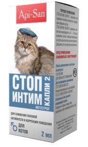Стоп-интим капли для котов