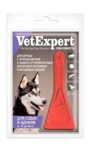 Ветэкспертпро инсекта для собак и и щенков от 15 до 30 кг