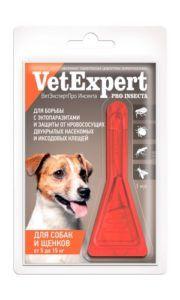 Ветэкспертпро инсекта для собак и щенков от 5 до 15 кг