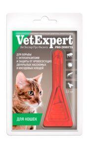 Ветэкспертпро инсекта для кошек