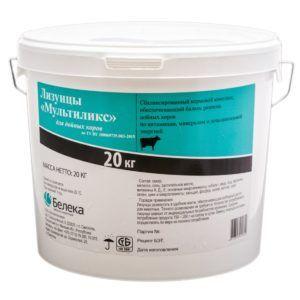 Лизунцы «мультиликс» для дойных коров