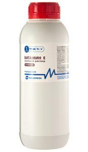 Витамин е 25% масляный раствор (1л)