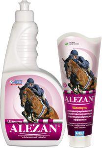 Алезан alezan шампунь концентрированный c противоперхотным, дезодорирующим и противогрибковым эффектом