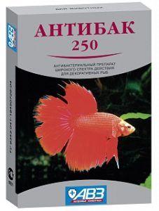 Антибак 250 таблетки для приготовления раствора