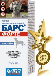 Барс форте спрей для собак