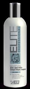 Элита elite professional шампунь для собак жесткошерстных пород.