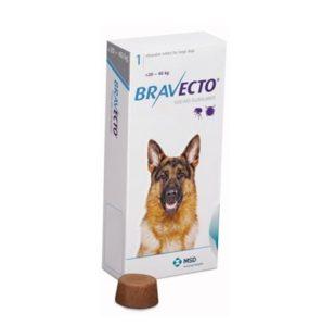 Бравекто 1000 мг, таблетки для собак 20-40 кг