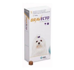 Бравекто 112,5 мг, таблетки для собак 2-4,5 кг
