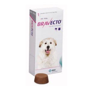 Бравекто 1400 мг, таблетки для собак 40-56 кг