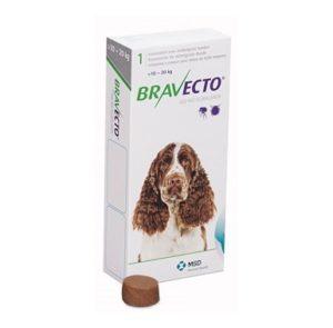 Бравекто 500 мг, таблетки для собак 10-20 кг